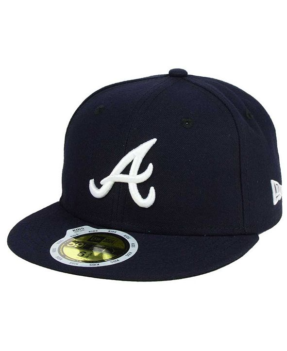 New Era Kids' Atlanta Braves Authentic Collection 59FIFTY Cap