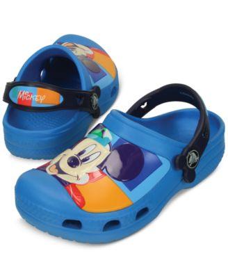 Crocs Mickey Mouse Clogs, Toddler Boys