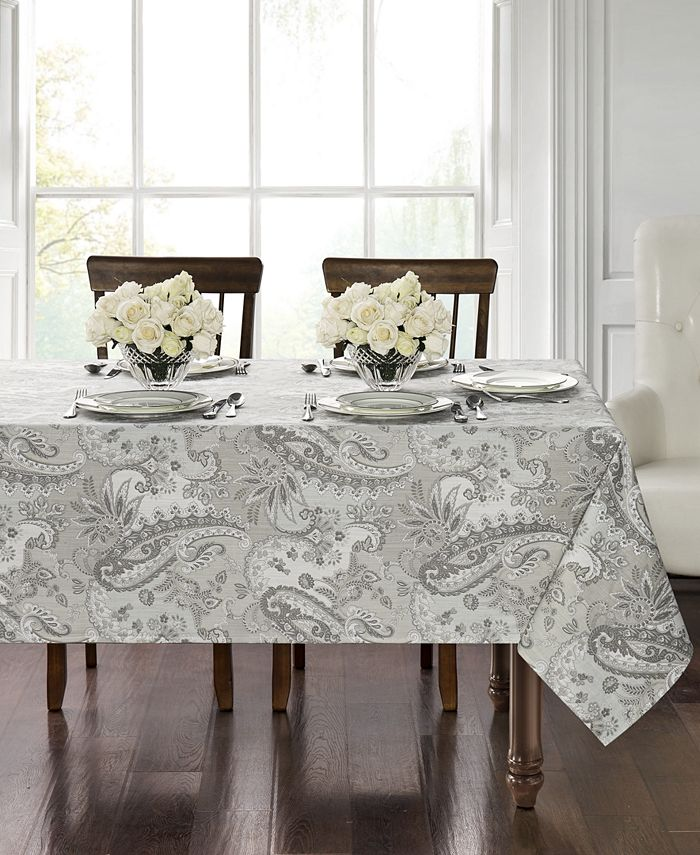 """Waterford - Taylor 70"""" x 126"""" Tablecloth"""