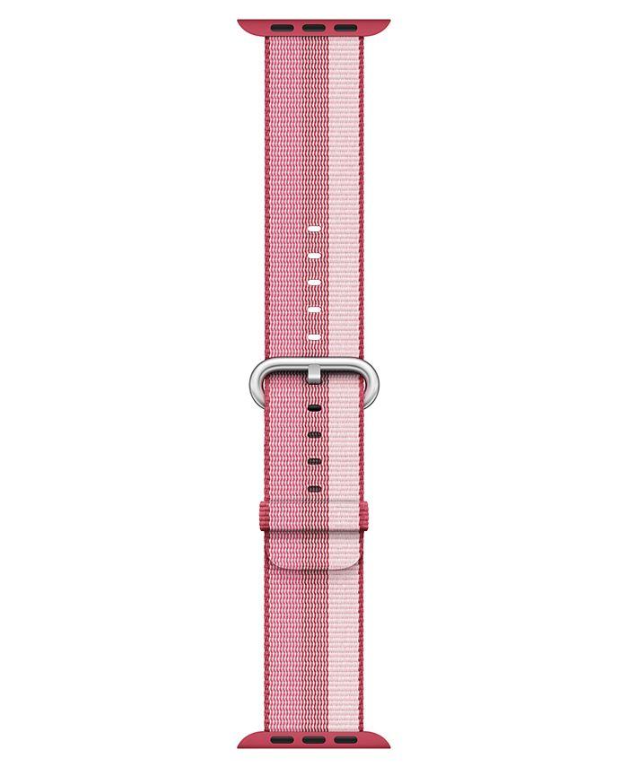 Apple - 38mm Berry Woven Nylon Band
