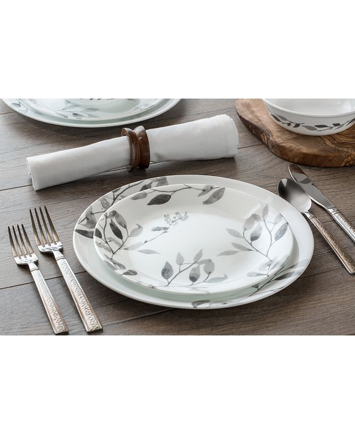 Corelle - Boutique Misty Leaves 12-Piece Dinnerware Set