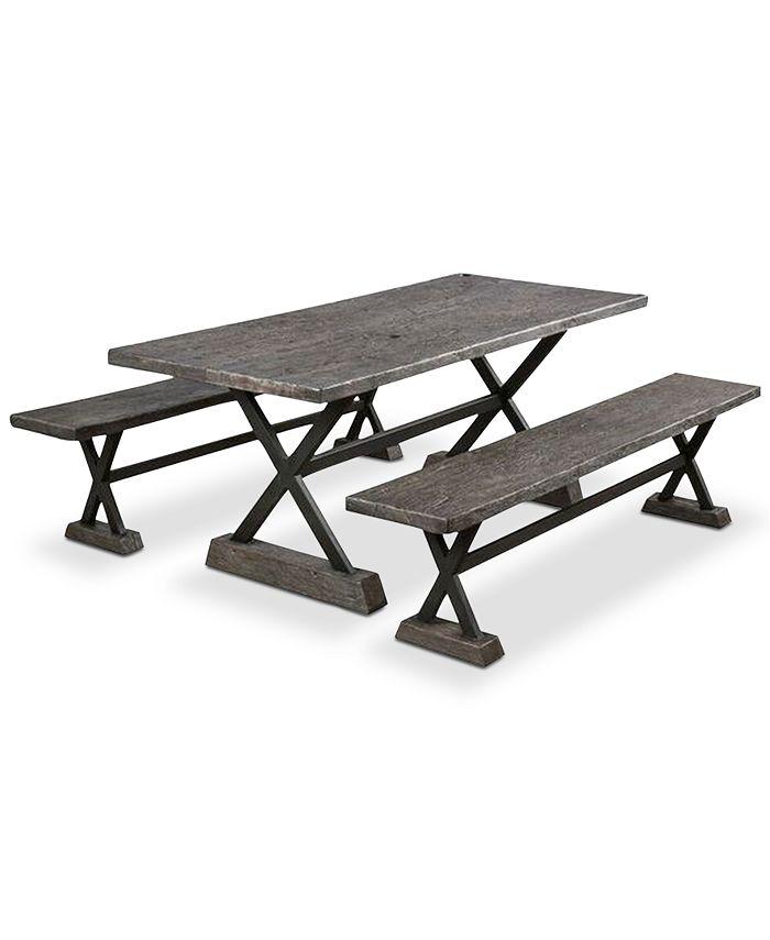 Furniture - Kelson 3-Pc. Picnic Set, Quick Ship