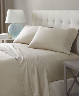 Solid Twin Flat Sheet, 550 Thread Count 100% Supima Cotton, Created for Macy's