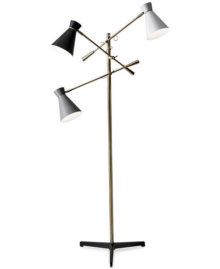Adesso - Lyle 3-Arm Floor Lamp