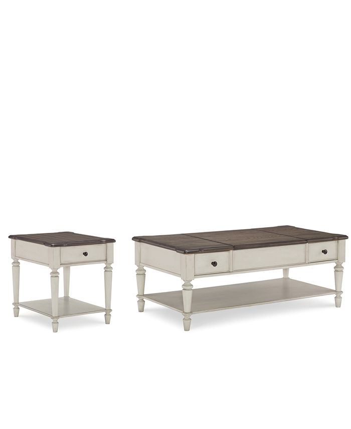 Furniture - Barclay Table  Set, 2-Pc. Set (Coffee Table & End Table)