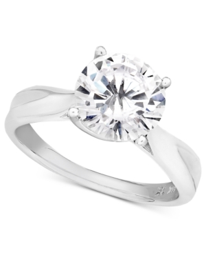Diamond Ring, 18k White Gold Diamond Solitaire (1 ct. t.w.)