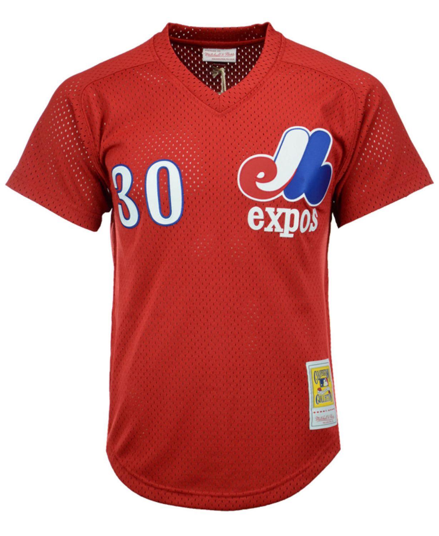 Mitchell & Ness Men's Tim Raines Montreal Expos Authentic Mesh Batting Practice V-Neck Jersey  & Reviews - Sports Fan Shop By Lids - Men - Macy's