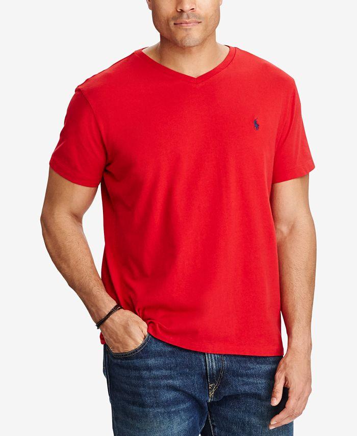 Men's V-Neck T-Shirt, Regular and Big & Tall