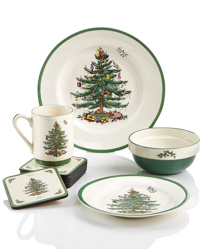 Spode Christmas Tree Sets Collection
