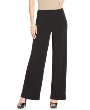 Elementz Pants, Pull On Slim Fit High Rise