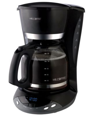 Mr. Coffee DWX23-NP Coffee Maker, 12 Cup Programmable