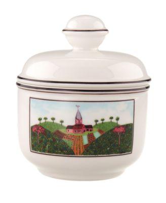 Villeroy & Boch Dinnerware, Design Naif Covered Sugar Bowl