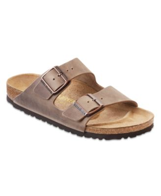 Arizona Two Band Oiled Leather Sandals