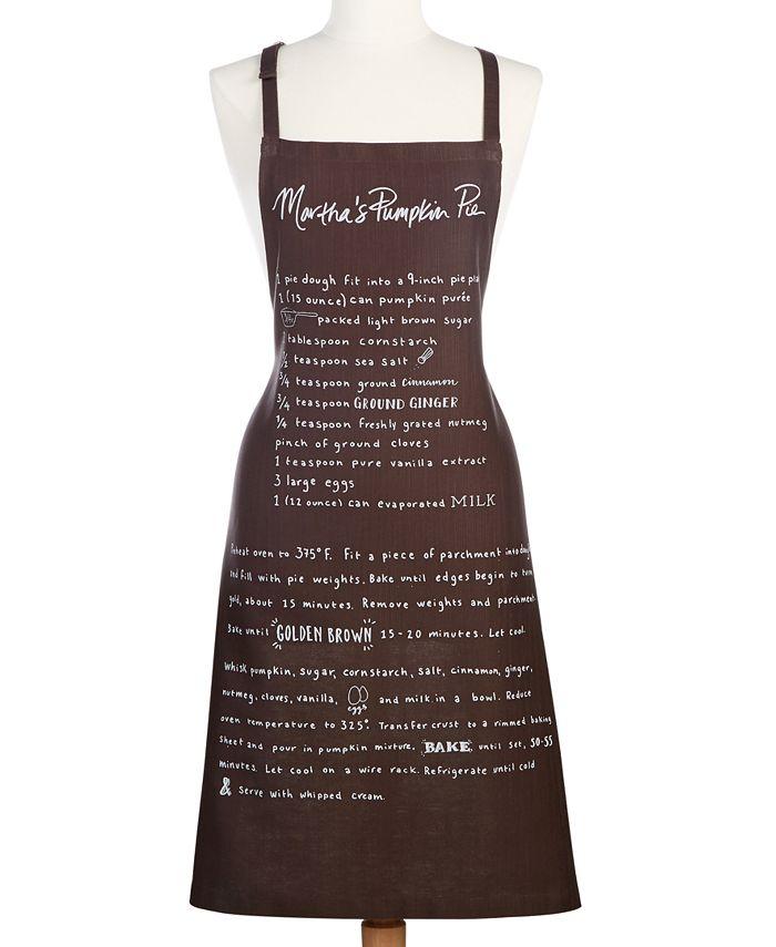 Martha Stewart Collection - Cotton Eat More Pie Apron
