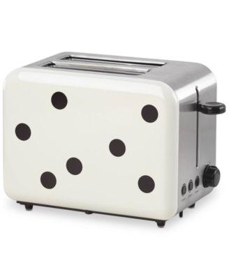 new york All In Good Taste Deco Dot Toaster