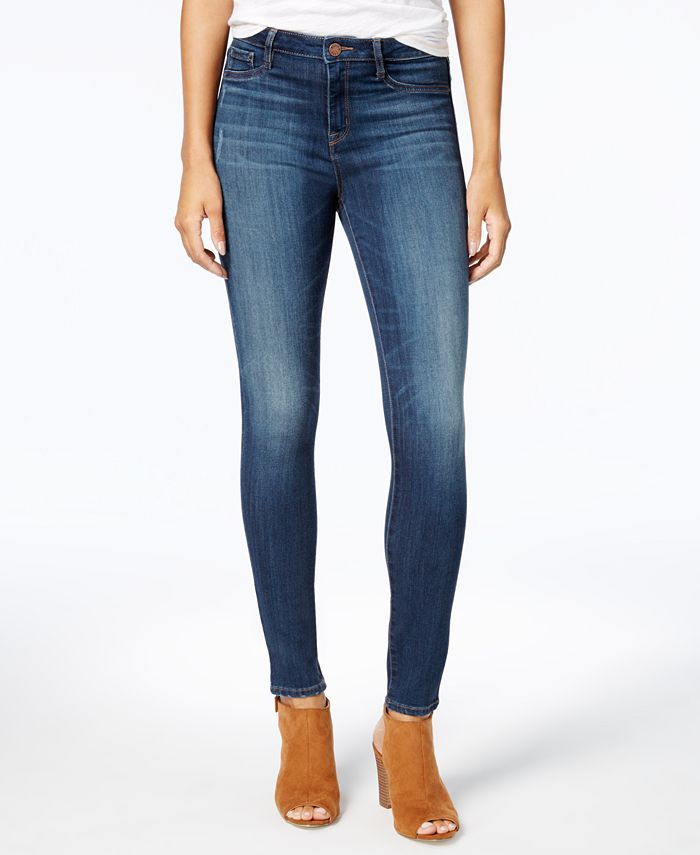 WILLIAM RAST - Sculpted High-Rise Skinny Jeans, Rustic New Wash