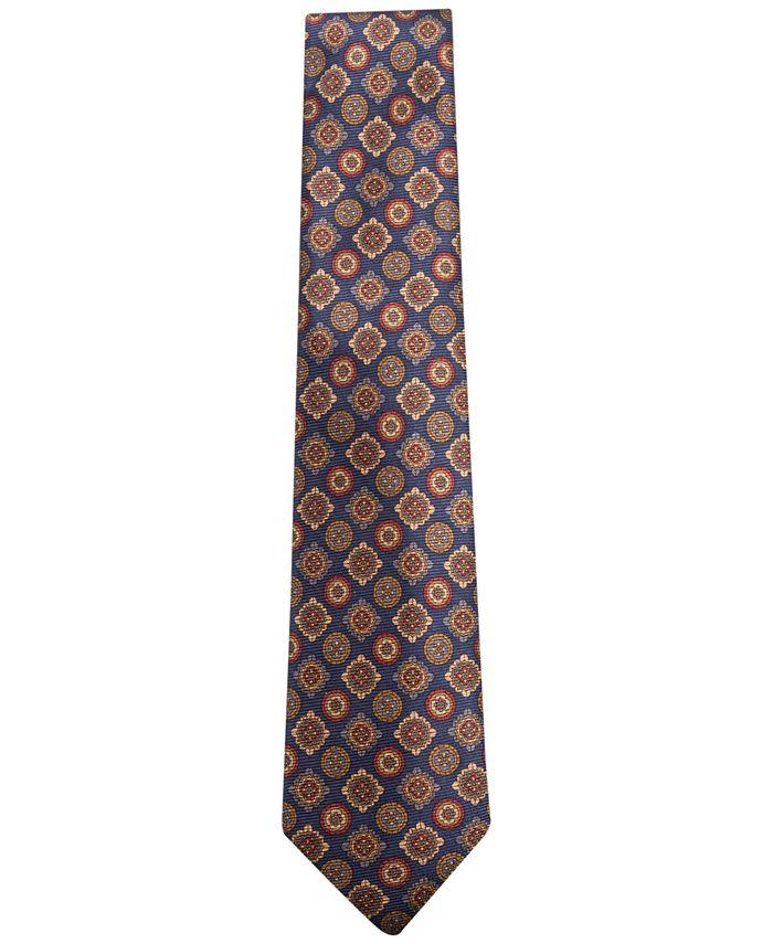 Tasso Elba - Men's Medallion Silk Tie, Only at Macy's