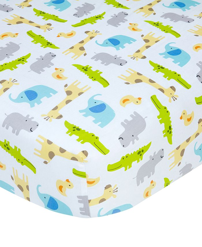 Carter's - Cotton Sateen Fitted Crib Sheet