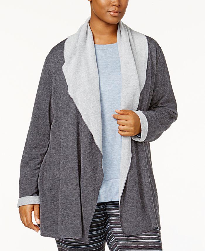 Alfani - Plus Size Luxe Cozy Wrap