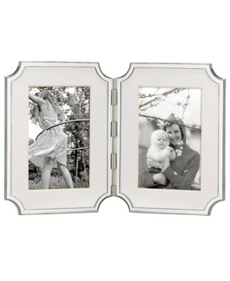 "kate spade new york Sullivan Street Hinged Double 4"" x 6"" Picture Frame"