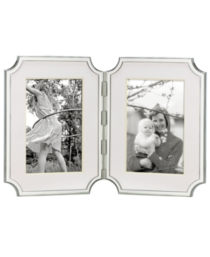 "kate spade new york Picture Frame, Sullivan Street Hinged Double 4"" x 6"""