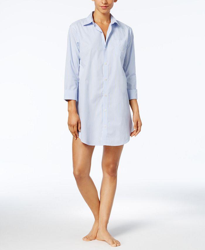 Lauren Ralph Lauren - Roll Cuff Sleepshirt
