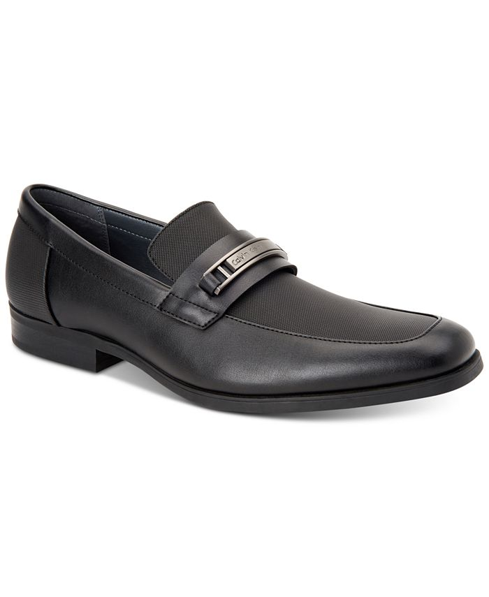 Calvin Klein - Men's Jameson Soft Leather Loafers