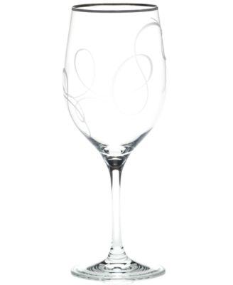 Mikasa Glassware, Love Story Platinum Goblet
