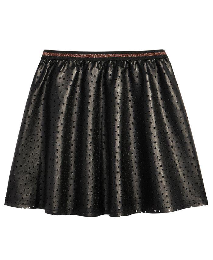 Epic Threads - Star-Print Skater Skirt, Big Girls (7-16)