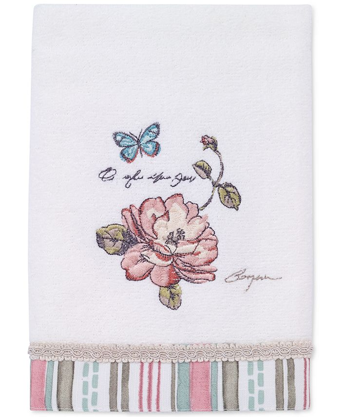 Avanti - Butterfly Garden Cotton Hand Towel