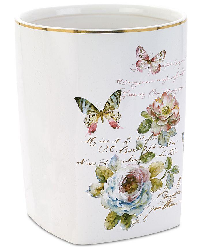 Avanti - Butterfly Garden Wastebasket