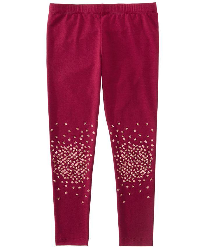 Epic Threads - Glitter Knee Leggings, Toddler & Little Girls (2T-6X)