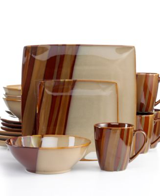 Sango Avanti Brown 16-Piece Set