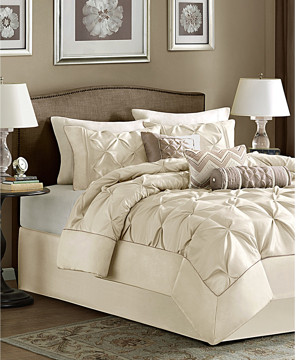 (60% OFF Deal) Wilma 7-Pc. Queen Comforter Set  $87.99