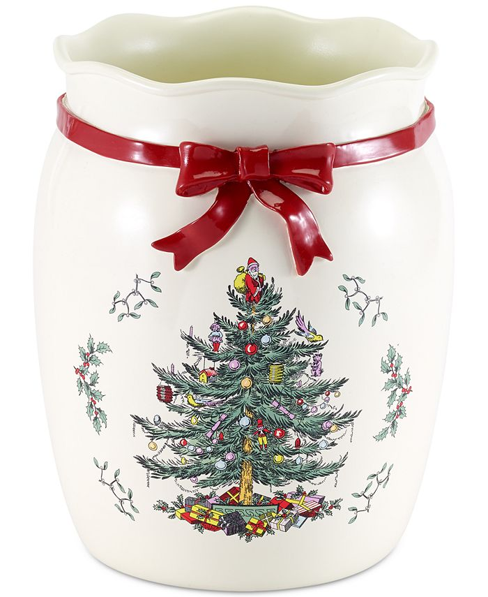 Spode - Christmas Tree Wastebasket