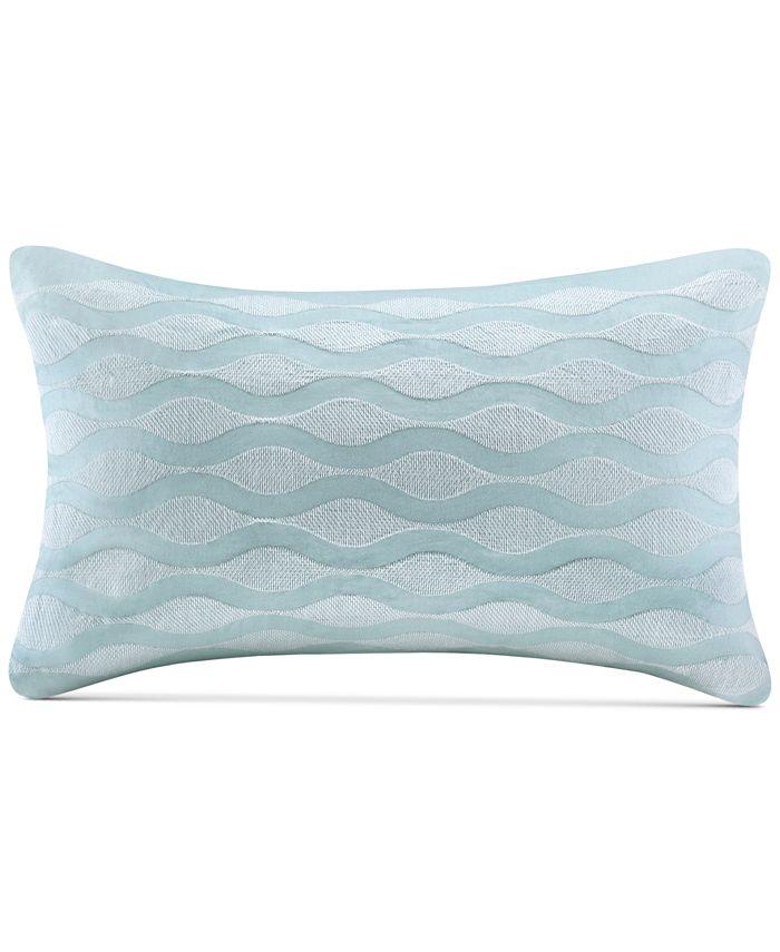 "Harbor House - Maya Bay 200-Thread Count 12"" x 20"" Oblong Decorative Pillow"