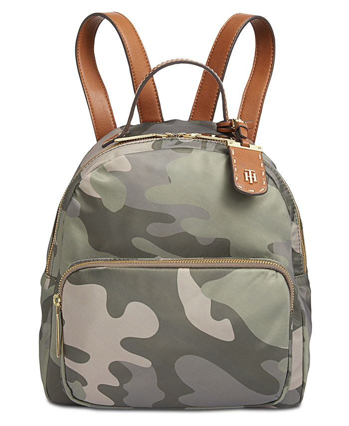 Tommy Hilfiger - Julia Camo Small Dome Backpack