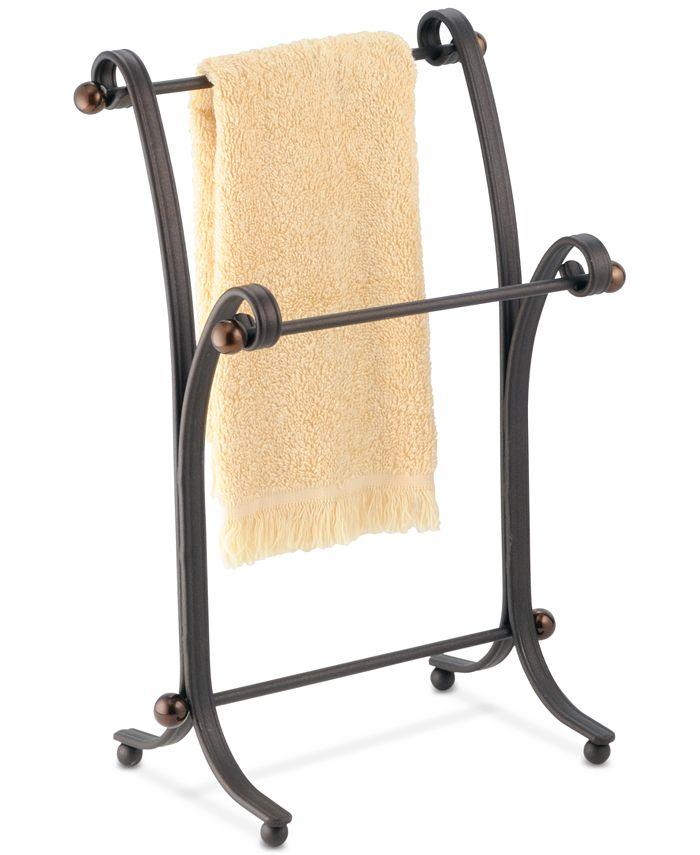 Interdesign - York Split Bronze Fingertip Towel Stand