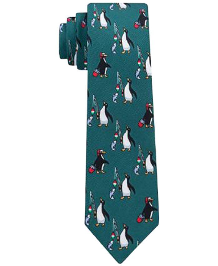 Tommy Hilfiger - Penguin Fishing Necktie, Big Boys (8-20)
