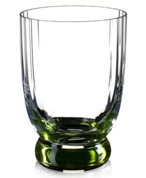 Closeout! Villeroy & Boch Drinkware, New Cottage Green Double Old Fashioned Glass