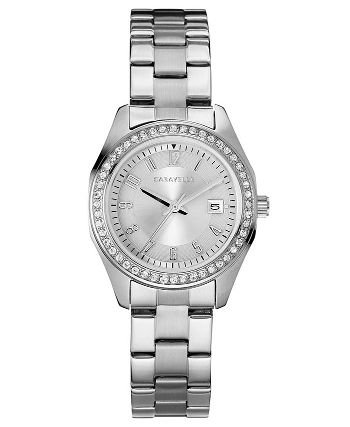 Caravelle - Women's Stainless Steel Bracelet Watch 28mm