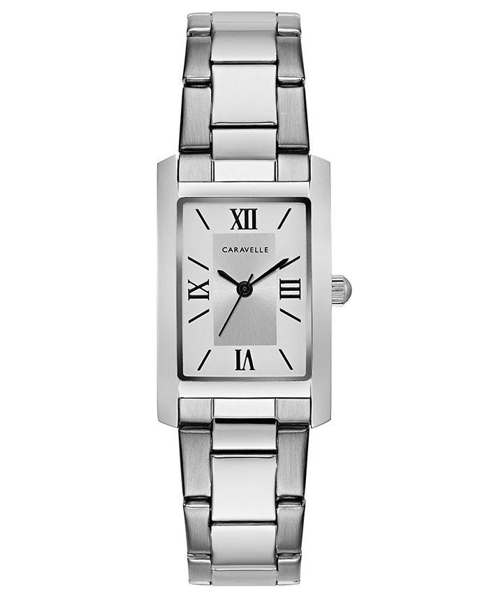 Caravelle - Women's Stainless Steel Bracelet Watch 21x33mm