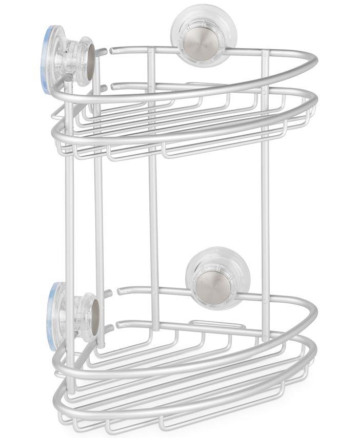 Interdesign - Metro Turn-N-Lock 2-Tier Corner Shower Caddy