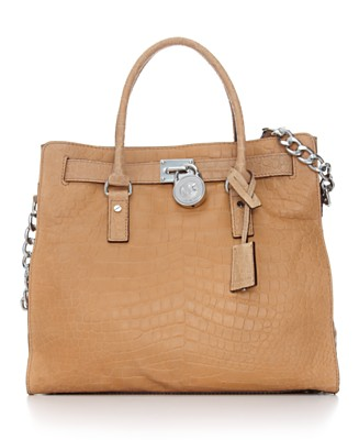 MICHAEL Michael Kors Handbag, Hamilton Large Tote - Satchels - Handbags & Accessories  - Macy's from macys.com