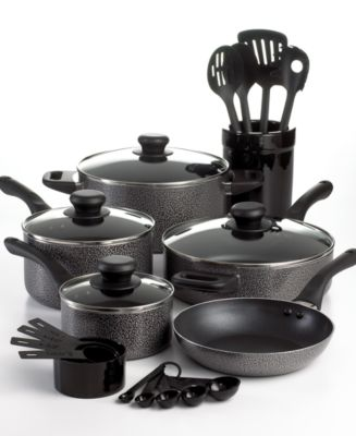 18-Pc. Nonstick Cookware Set