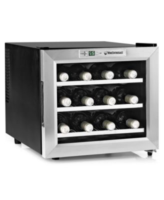 Wine Enthusiast 2720213 Wine Cellar, 12 Bottle