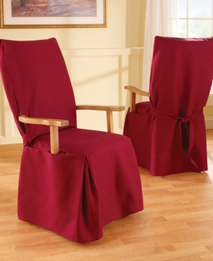 Sure Fit Slipcovers, Duck Arm Long Dining Chair Cover Bedding