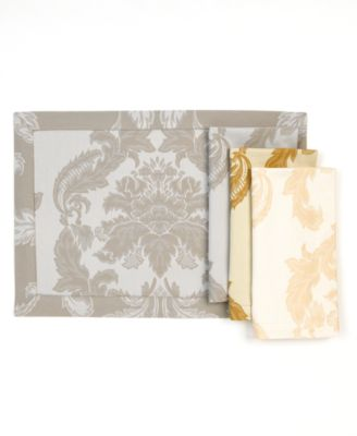 Waterford Table Linens, Damascus Napkin