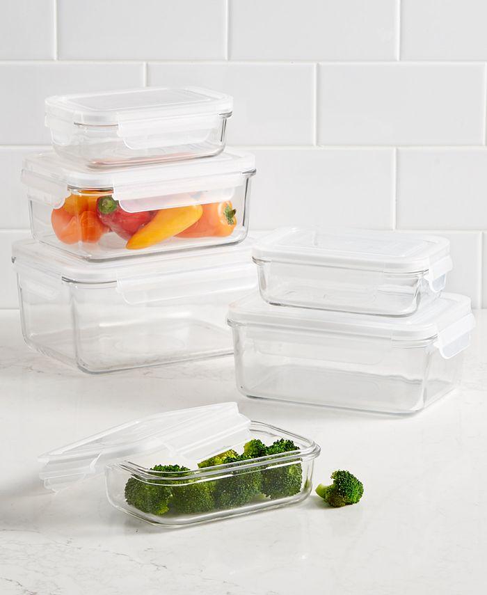 Martha Stewart Collection - 12-Pc. Glass Storage Set