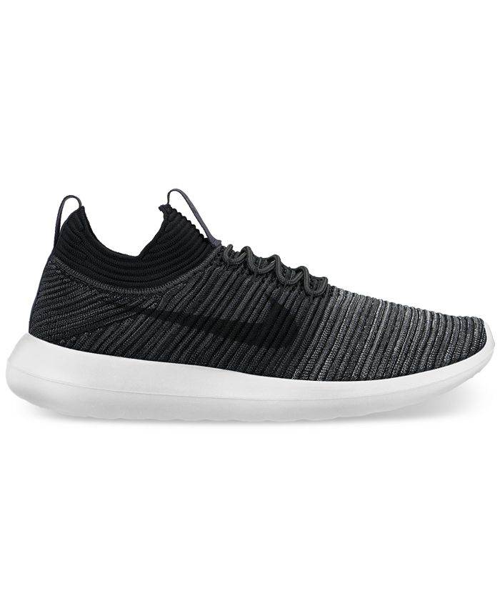 Autorizar pecho símbolo  Nike Men's Roshe Two Flyknit V2 Casual Sneakers from Finish Line & Reviews  - Finish Line Athletic Shoes - Men - Macy's